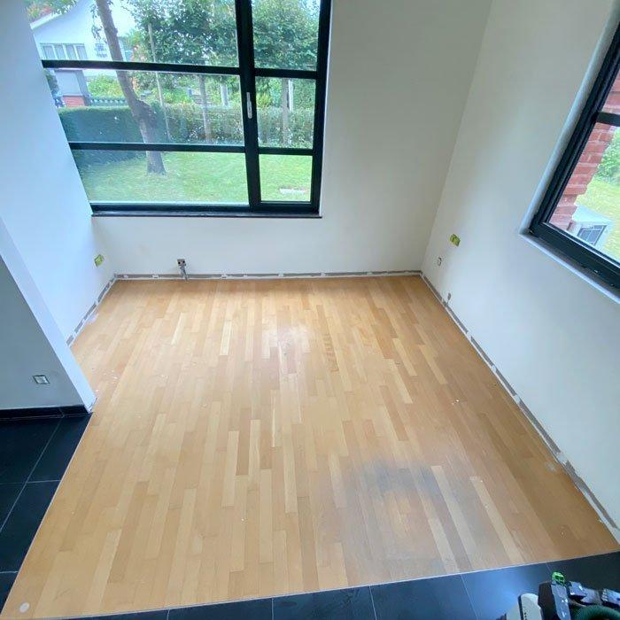 Beuken parket renovatie en onderhoud