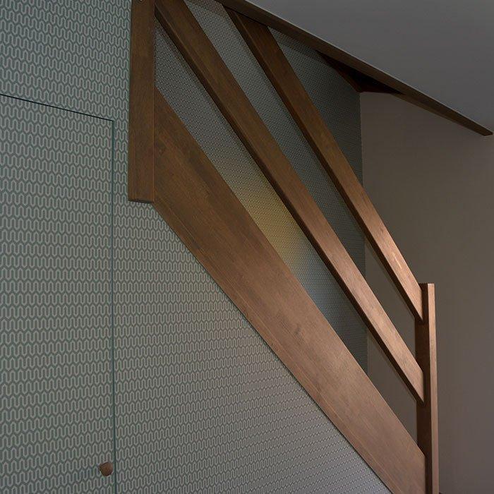 Schilder- en behangwerken in een woning